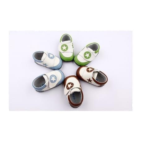 Freycoo - botičky s koženou podrážkou Jonas - zelené
