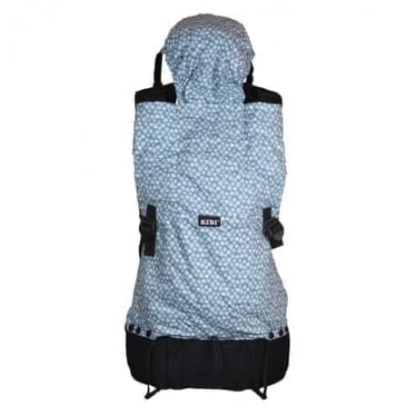 KiBi - ergonomické nosítko - Modré lístky