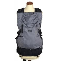 KiBi ergonomické nosítko Černobílý pruh
