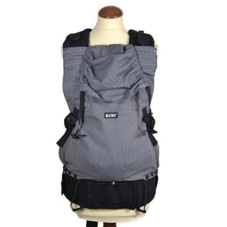 KiBi - ergonomické nosítko - Černobílý pruh