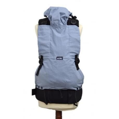 KiBi - ergonomické nosítko - Šedý puntík