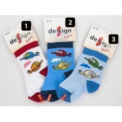 Design Socks dětské ponožky letadla 1