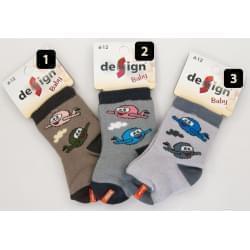 Design Socks dětské ponožky letadla 2