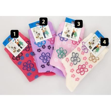 Design Socks dětské ponožky kytičky 1