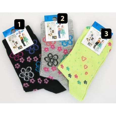 Design Socks dětské ponožky kytičky 2