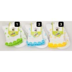Design Socks dětské ponožky s krajkou 2