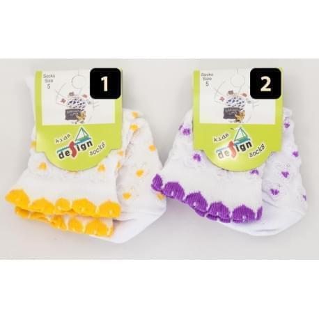 Design Socks dětské ponožky s krajkou 3