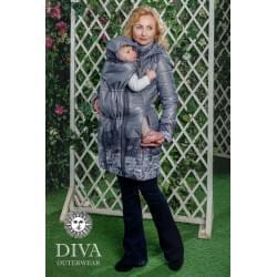 Diva Milano podzimní/jarní nosící kabát 4v1 - Pietra