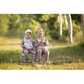 Babysoul - dětská mikina s kapucí - Roses