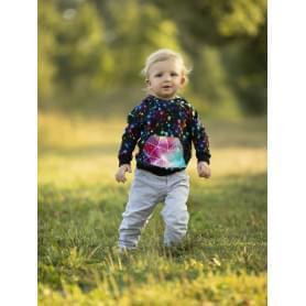 Babysoul - dětská mikina s kapucí - Stars