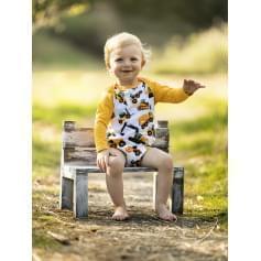 Babysoul - dětské body - Dozer (teplejší)