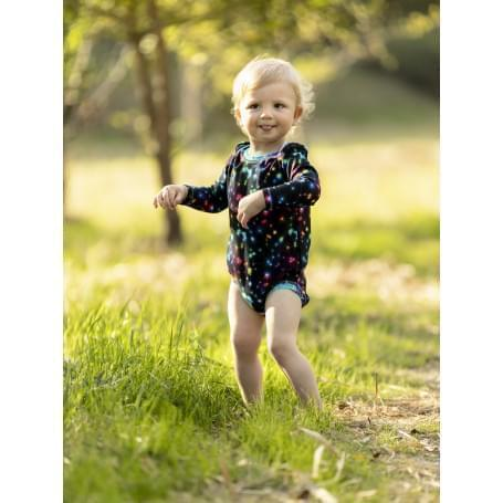 Babysoul - dětské body - Stars (teplejší)