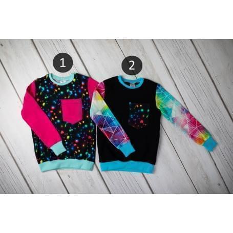 Babysoul - dětská mikina - Stars