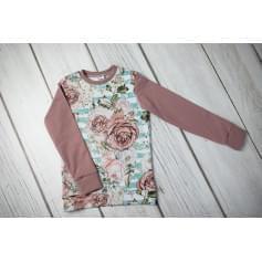 Babysoul - dětská mikina - Roses
