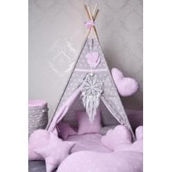 Dětské teepee - Růžový sen