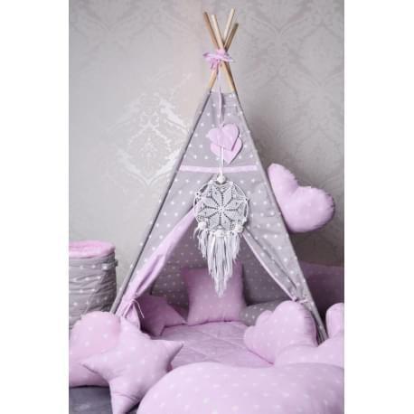 Dětské teepee - Růžový sen - doprava zdarma
