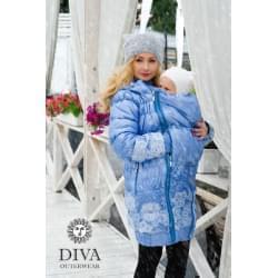 Diva Milano zimní nosící kabát 3v1 - Celeste