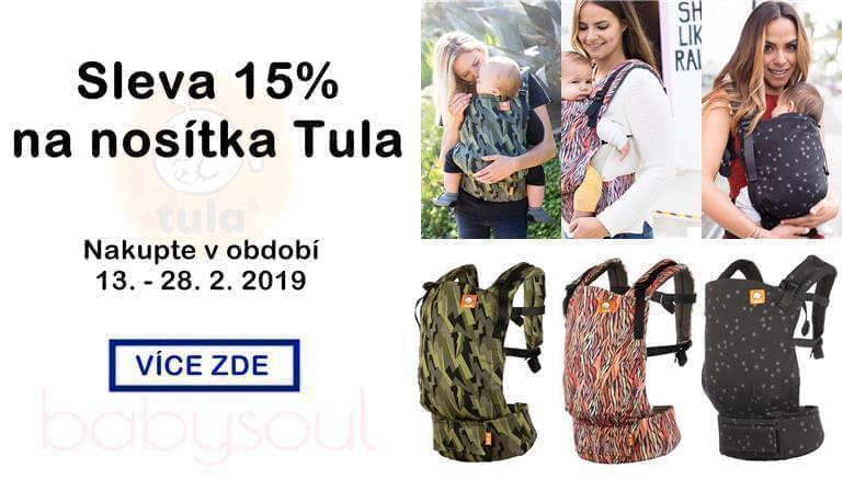 15% sleva na nosítka Tula